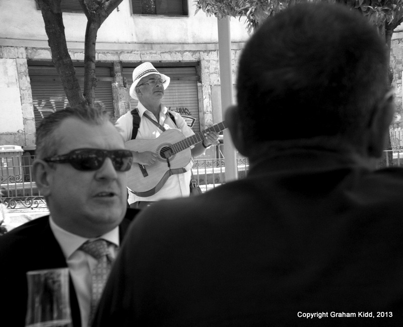 The Lunch-time Gig - Malaga, Spain - June 2013